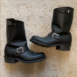 Frye Engineer 8R Moto boots. Size 7.5. Great cond